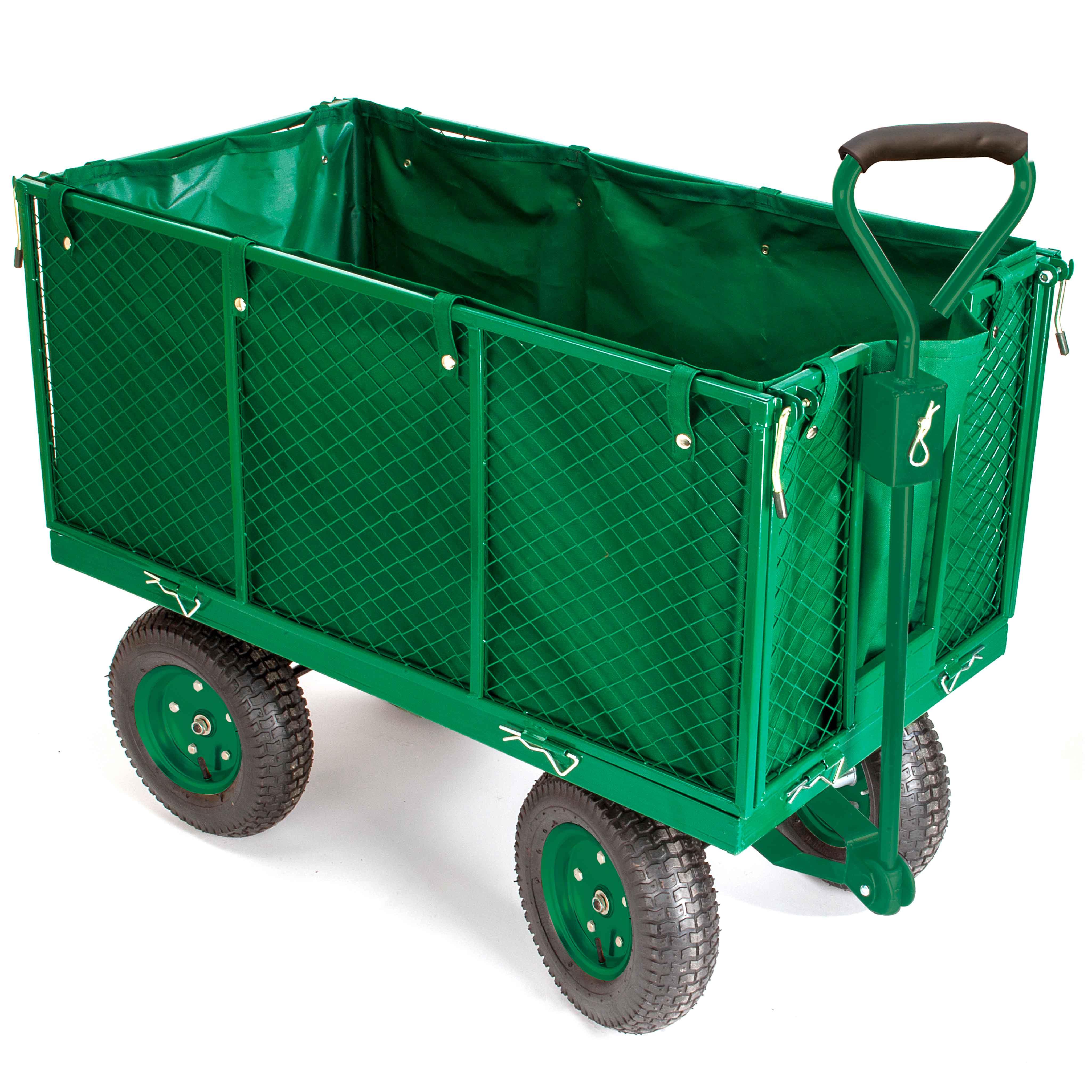 chariot de jardin b ch grillag 4 roues distriartisan. Black Bedroom Furniture Sets. Home Design Ideas