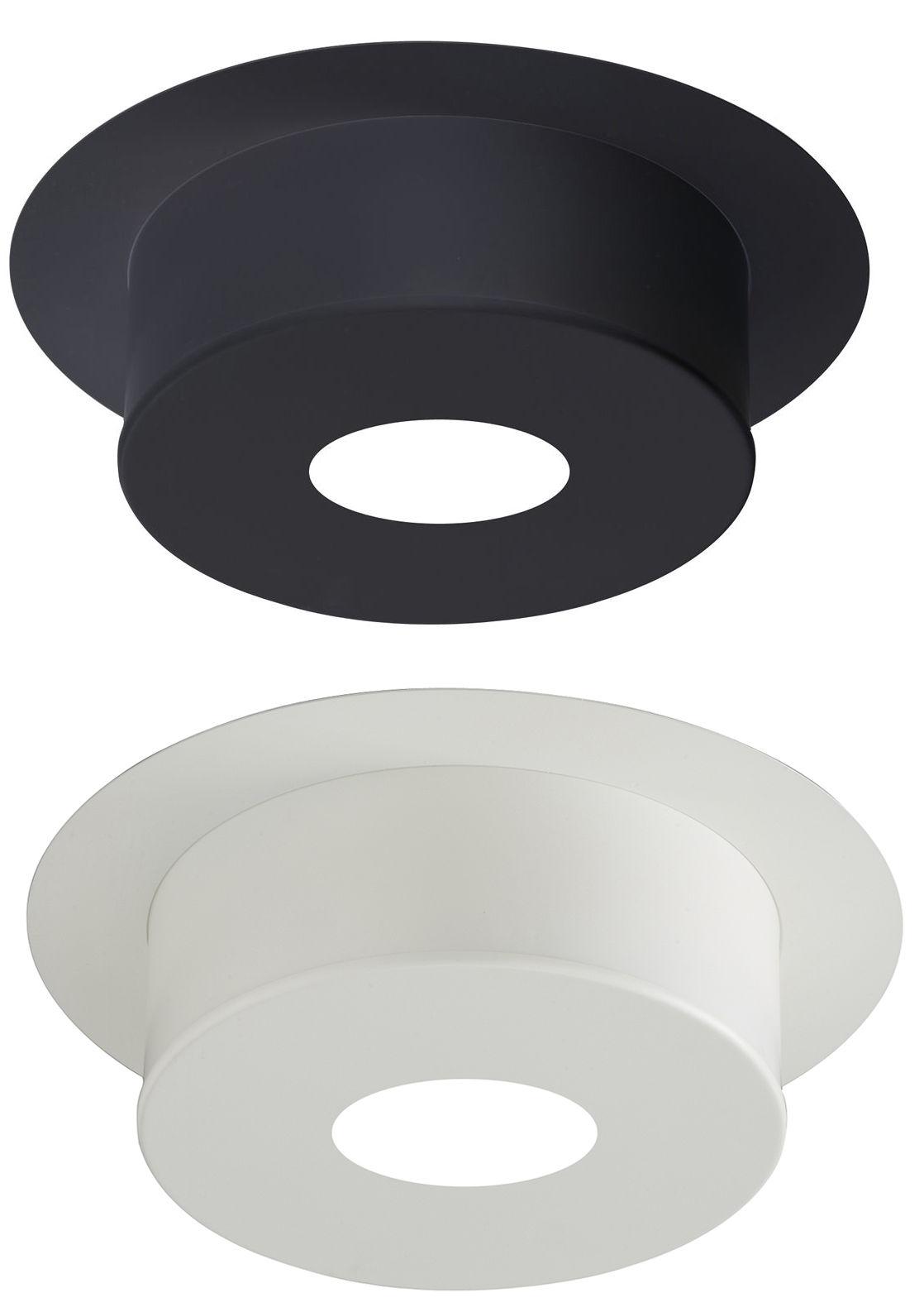 poujoulat plaque de finition ronde blanc pour conduit inox galva h12 cm conduit maill 150. Black Bedroom Furniture Sets. Home Design Ideas