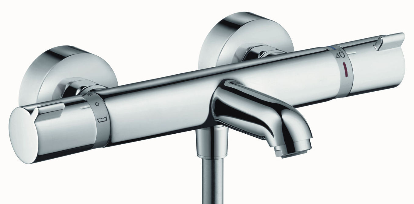 Hansgrohe Mitigeur thermostatique bain douche mural ECOSTAT