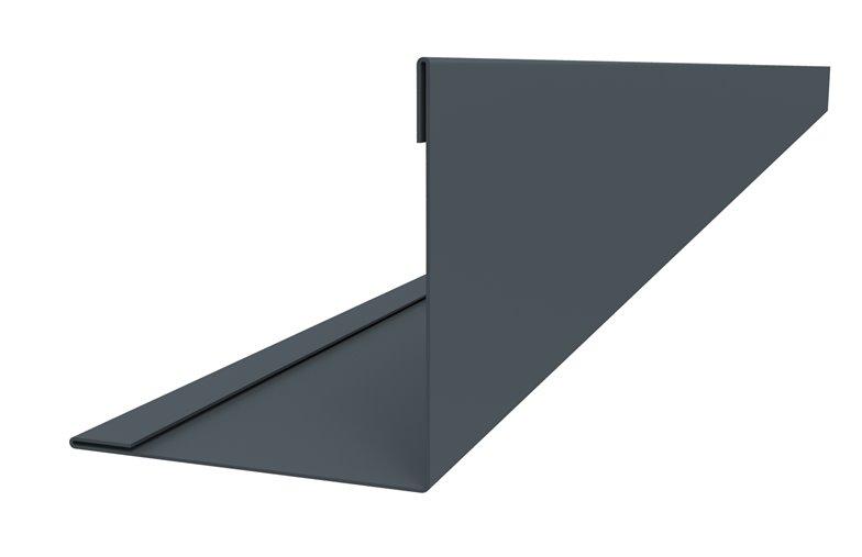 Joris ide raccord d 39 angle ext rieur pour t les acier en for Bardage pvc exterieur couleur