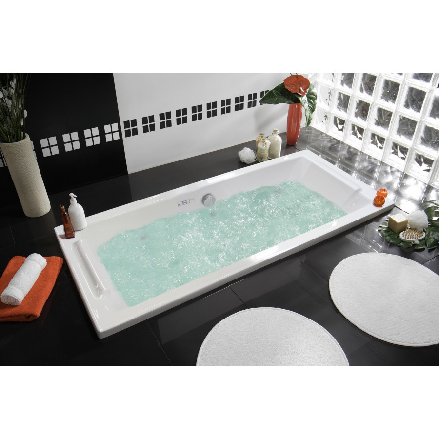Allibert baignoire baln o square syst me twinzen distriartisan - Baignoire balneo allibert ...