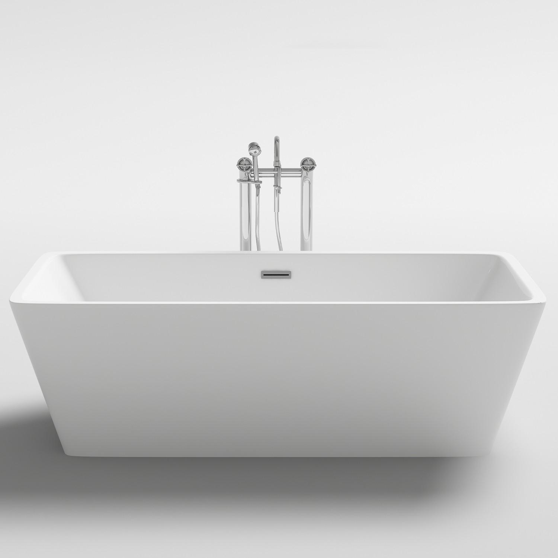 baignoire ilôt linate acrylique monobloc - distriartisan