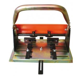 Poinçonneuse à ardoise jusqu'à 8 mm double perforation Meca Mat
