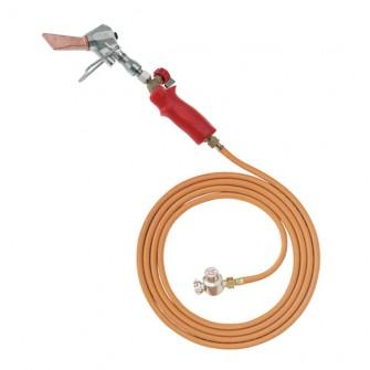 Ensemble fer à souder zingueur complet Virax avec tuyau tournant 4 m