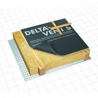 Ecran de sous-toiture HPV DELTA®-VENT S Doerken 50 m x 1,5 m