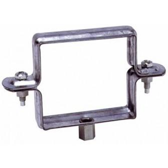 Collier de descente carré à embase 7/150 diam. 80x80