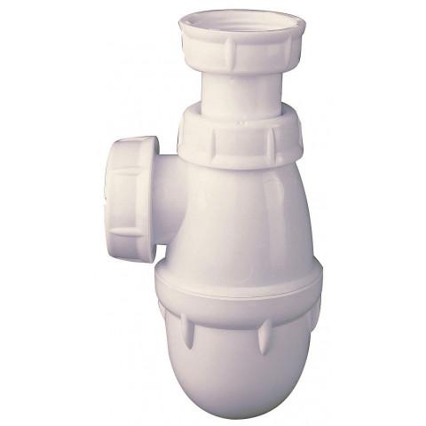 Siphon d/évier double pour machine /à laver 40 mm Joint d/étanch/éit/é 76 mm