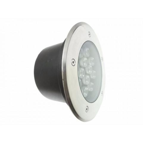 Spot Extérieur Encastrable Sol Led 18w Ip65 60   Couleur Eclairage : Blanc  Froid 6000k ...