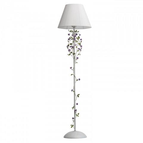 Lampadaire 1 Cm Flora Blanc Ampoule 160 CorexBd