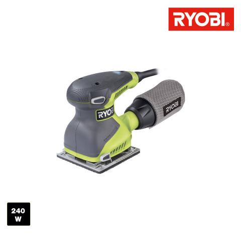 Ponceuse vibrante RYOBI 200W 1//3 de feuille RSS200G