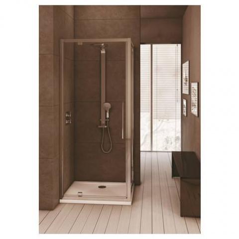 Incroyable Ideal Standard - Paroi de douche fixe Kubo pour receveur carré ou DQ-55