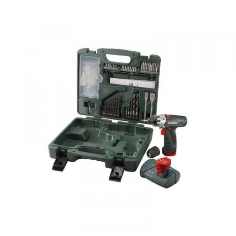 Metabo Burineur PowerMaxx BS 10,8 V Perceuse Perçage Vis valise