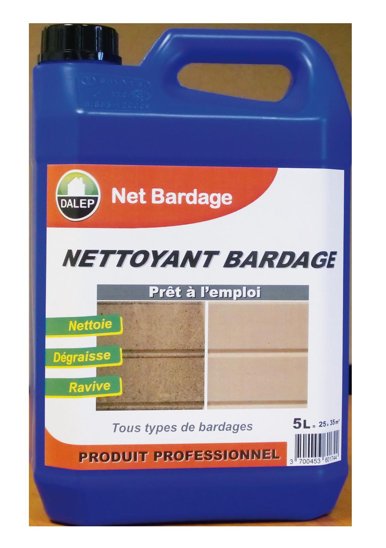 Produit Nettoyage Bardage Pvc net bardage - nettoyant bardages 20l