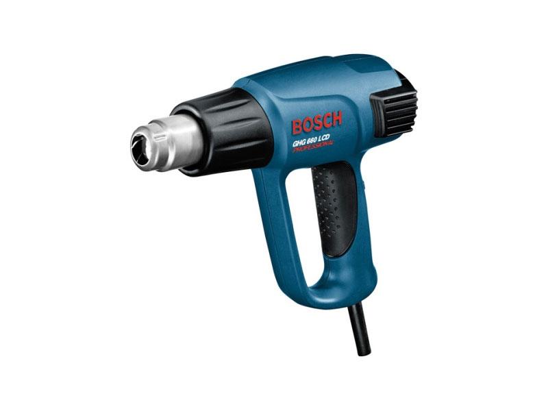 Bosch d capeur thermique 2300w livr en coffret ghg 660 lcd 0601944703 distriartisan - Decapeur thermique sans fil ...
