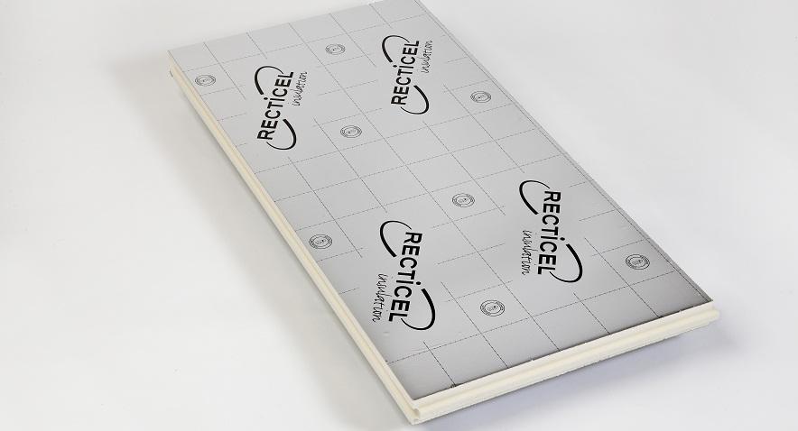 Recticel panneau isolant thermique mur ext rieur for Isolant pour exterieur