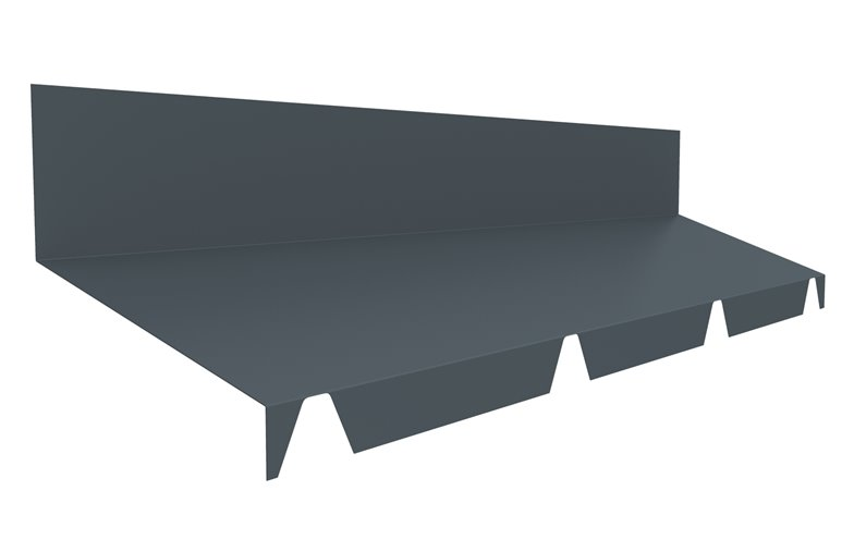 joris ide fa tage contre mur pour t le bac acier pour couverture couleur au choix. Black Bedroom Furniture Sets. Home Design Ideas