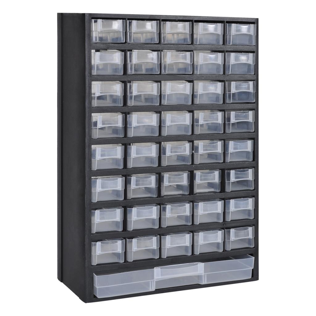 vidaxl - vidaxl 41-tiroirs armoire/module/casier de rangement