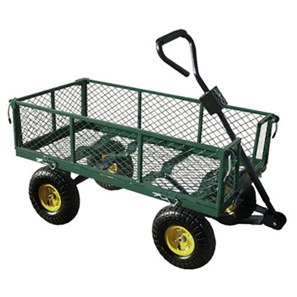 Vidaxl Vidaxl Chariot Jardin Remorque A Main 350 Kg De Charge Distriartisan