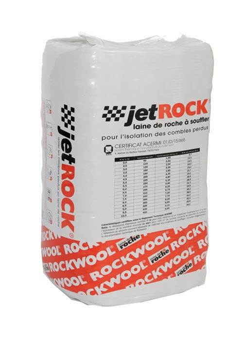 rockwool laine de roche souffl e jetrock pour l. Black Bedroom Furniture Sets. Home Design Ideas