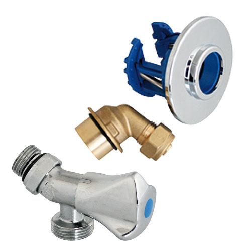 Somatherm kit fixoplac robinet machine laver avec for Robinet exterieur per
