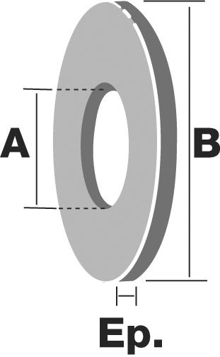 Simpson  Rondelles Pour Boulons De Charpente Dimensions Au Choix