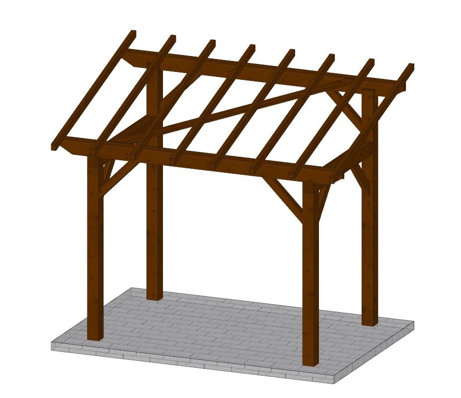 distriartisan abri de jardin ossature bois monopente kitabris k1 279x189 cm distriartisan. Black Bedroom Furniture Sets. Home Design Ideas
