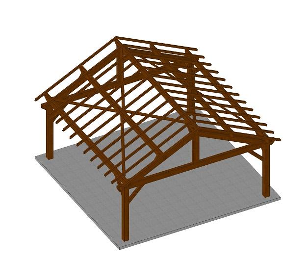 distriartisan abri de jardin ossature bois double pente kitabris k7 556x556 cm distriartisan. Black Bedroom Furniture Sets. Home Design Ideas