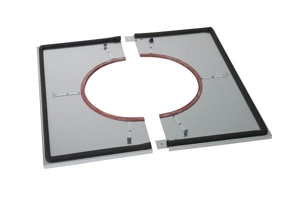 poujoulat plaque distance de s curit tanche plafond pour conduit pgi diam tre au choix. Black Bedroom Furniture Sets. Home Design Ideas
