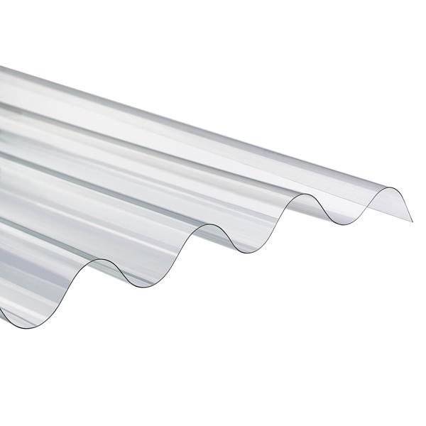 onduline plaque ondul e transparente polycarbonate 1 52. Black Bedroom Furniture Sets. Home Design Ideas