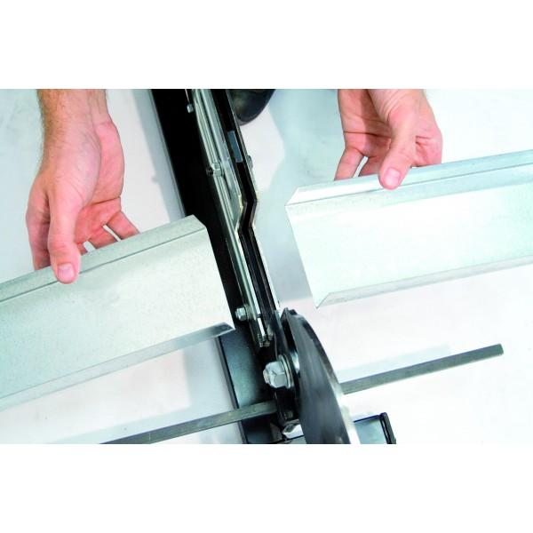 edma guillotine profilcut mega ii pour profil s m talliques jusqu 39 125 mm de large. Black Bedroom Furniture Sets. Home Design Ideas