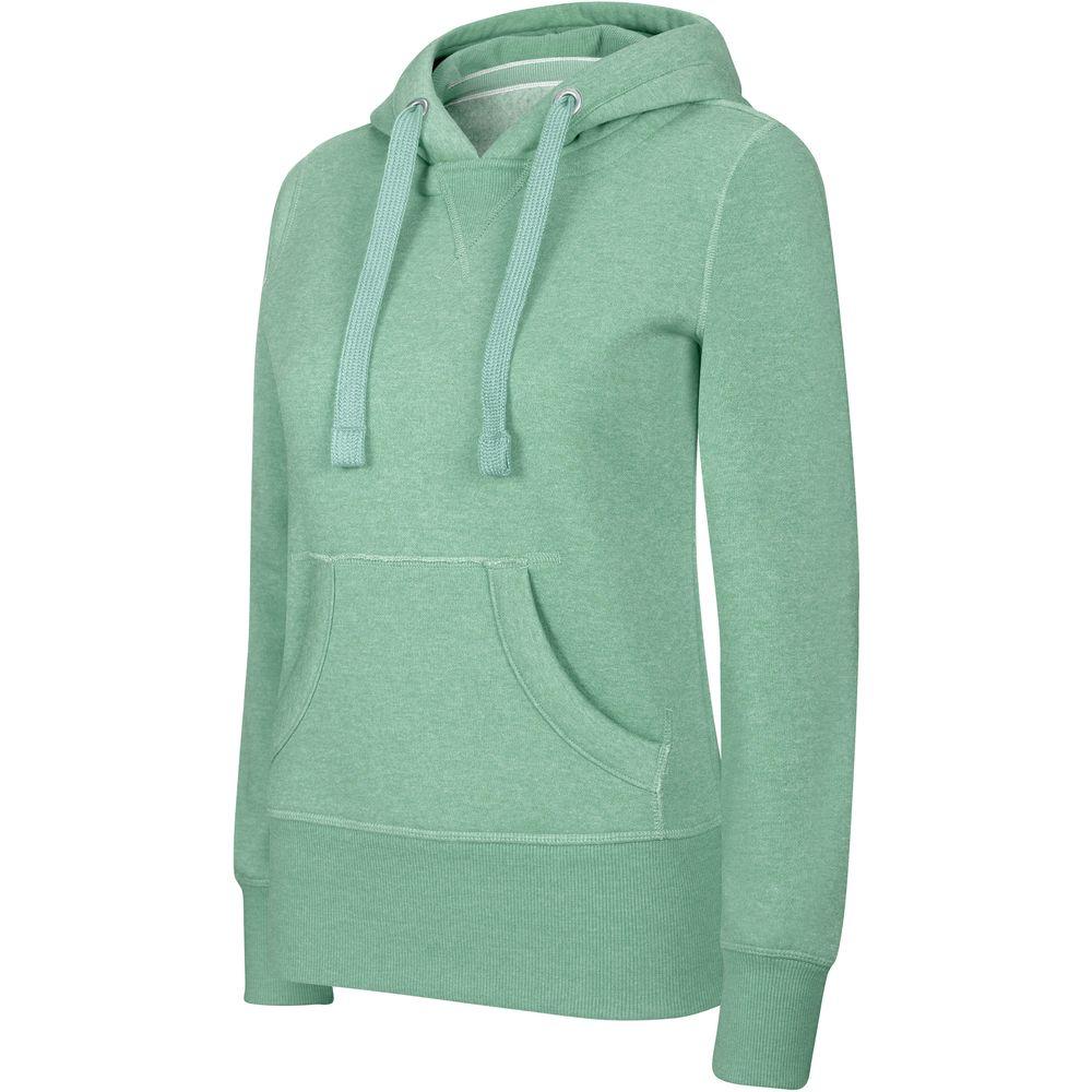 ... Sweat-shirt de travail à capuche femme kariban mélange - Coloris et  taille au choix ... db2fb74802f