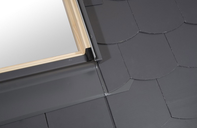 rooflite raccord mat riaux plats pour fen tre de toit dimensions au choix distriartisan. Black Bedroom Furniture Sets. Home Design Ideas