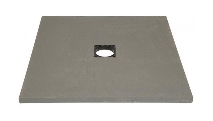 Lazer receveur de douche italienne carreler panodur for Dimension receveur douche italienne