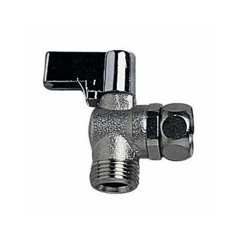 Wirquin robinet d arr t querre wc 1 4 tour g3 8 r29 - Robinet d arret d eau ...