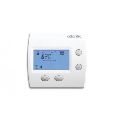 atlantic thermostat d 39 ambiance digital pour plancher chauffant 109519 distriartisan. Black Bedroom Furniture Sets. Home Design Ideas