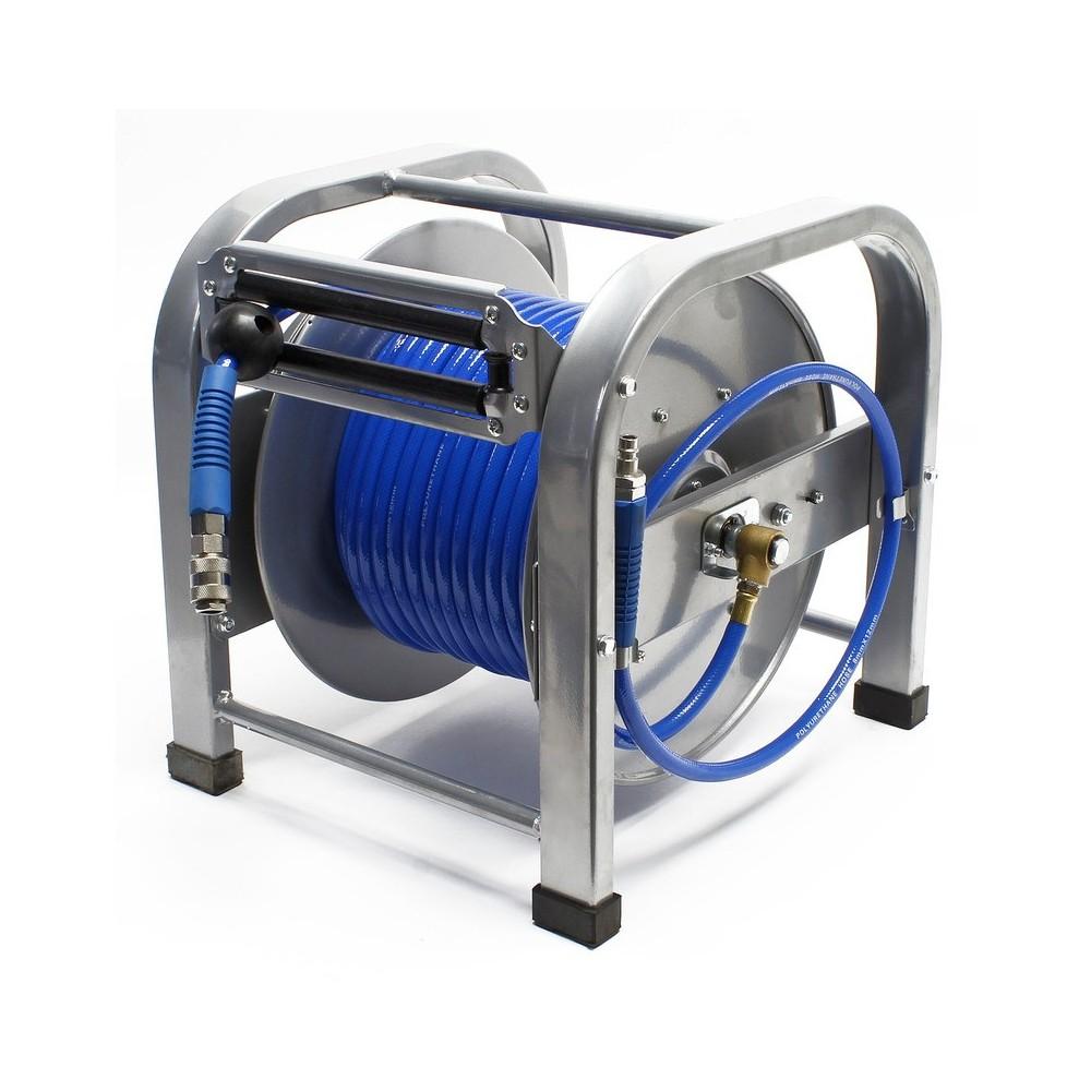 monmobilierdesign tuyau air comprim avec enrouleur pneumatique d vidoir automatique 30m. Black Bedroom Furniture Sets. Home Design Ideas