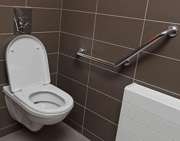 WC suspendu PMR