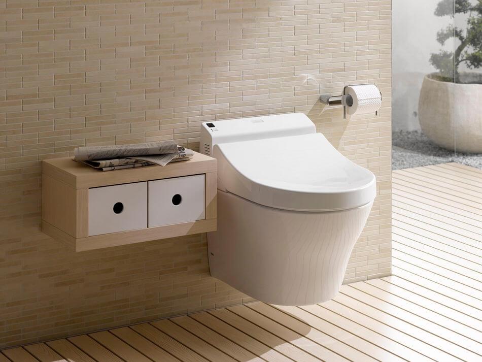 WC suspendu moderne
