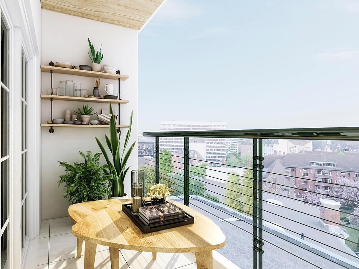 Balcon style moderne