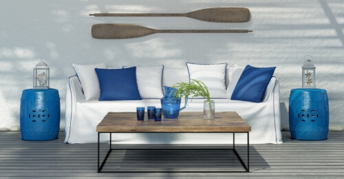terrasse style bord de mer