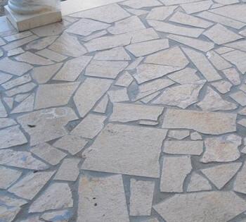 nettoyer terrasse en pierre