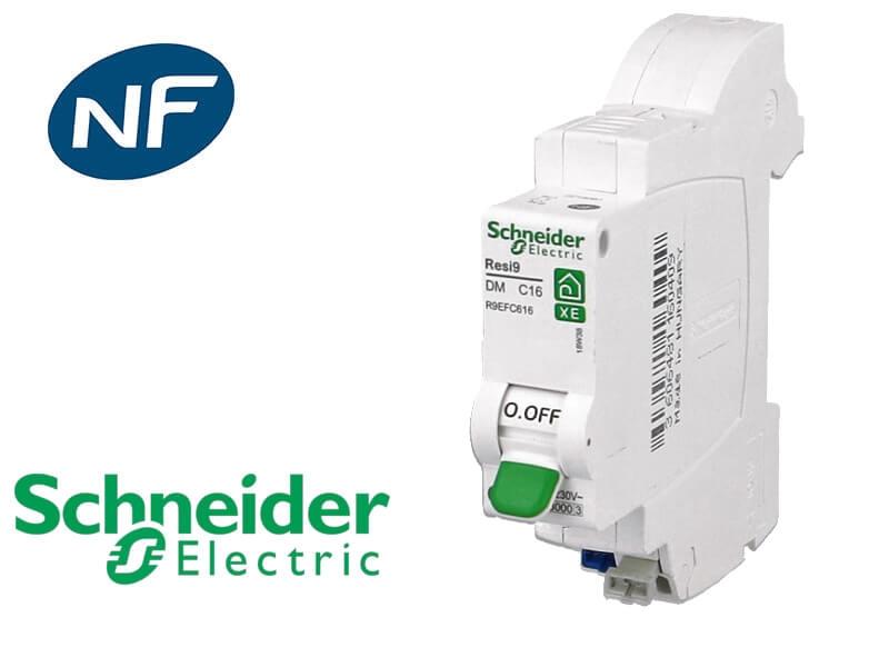 disjoncteur phase neutre Schneider Electric