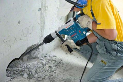 Gros perforateur burineur de chantier