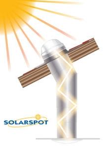 Fonctionnement puits de lumière Solarspot