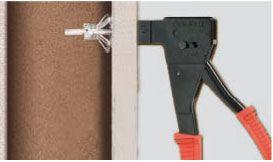 Pince professionnelle triple action molly pour chevilles expansion m4 m8 distriartisan - Pince cheville molly ...