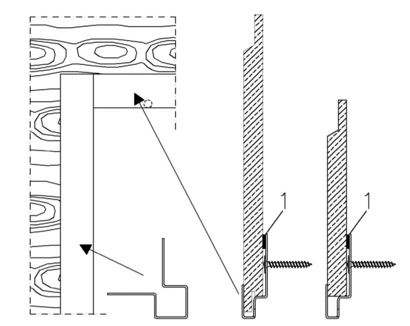 profil de joint filant vertical Lap